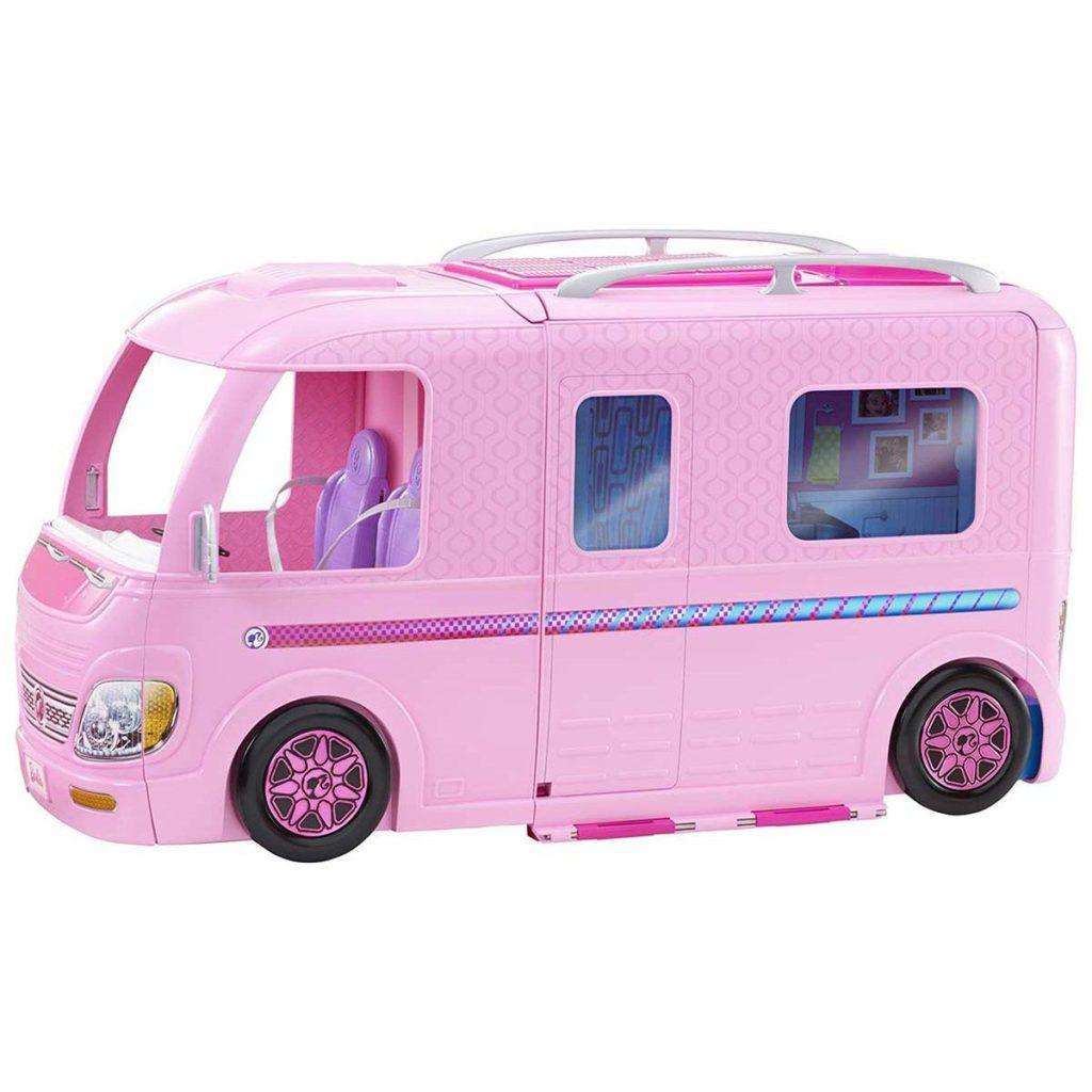 Le camping-car Barbie :  le rêve de toutes les petites filles